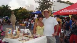 Me and Ana-Hi in Playa del Carmen
