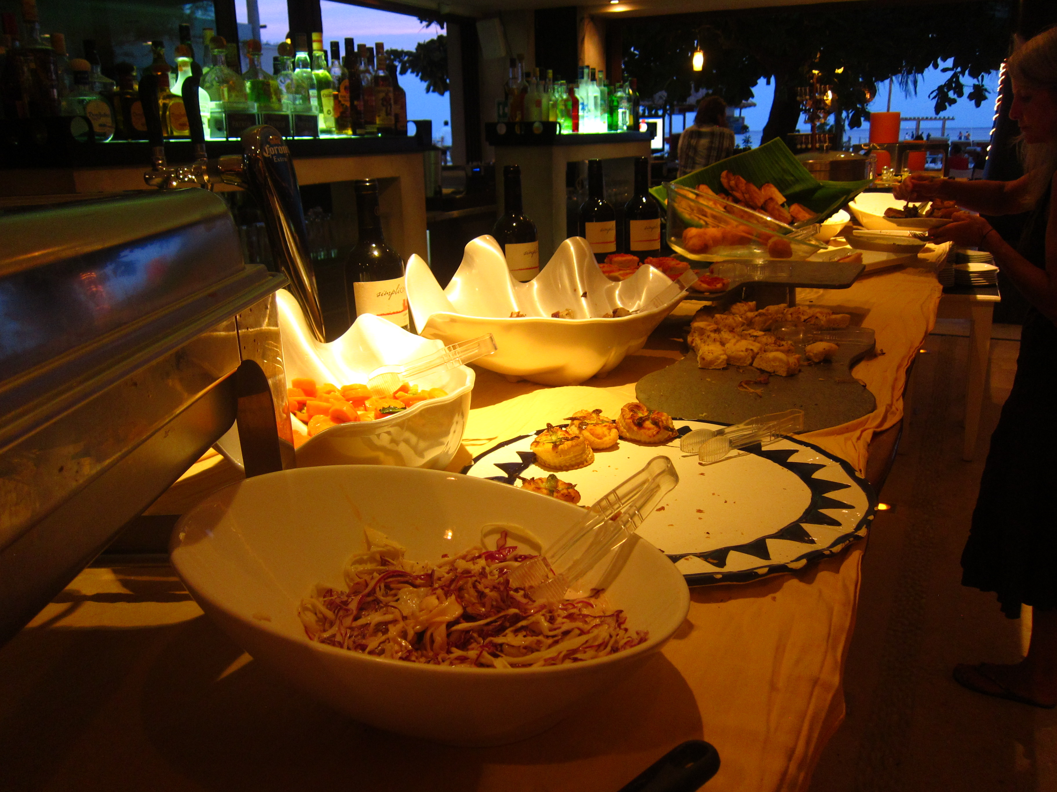 Sunday Buffet at Indigo Beach Club