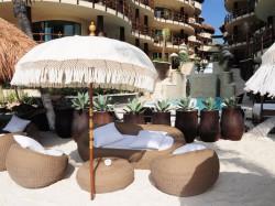 Our exclusive beach club