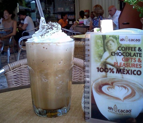 Delicious Frappe in Playa del Carmen