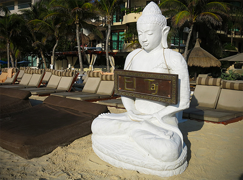 Buddha at El Taj Oceanfront