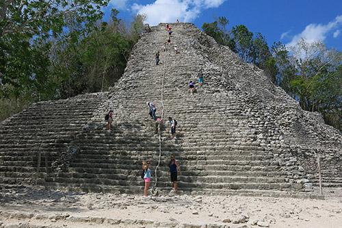Coba pyramid
