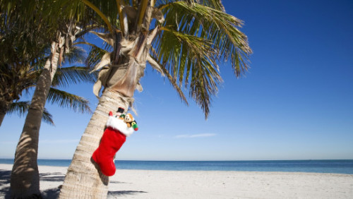 Christmas on the beach - Condo Hotels Playa del Carmen