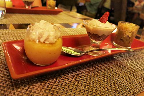 Desserts - Plank Condo Hotels Playa del Carmen