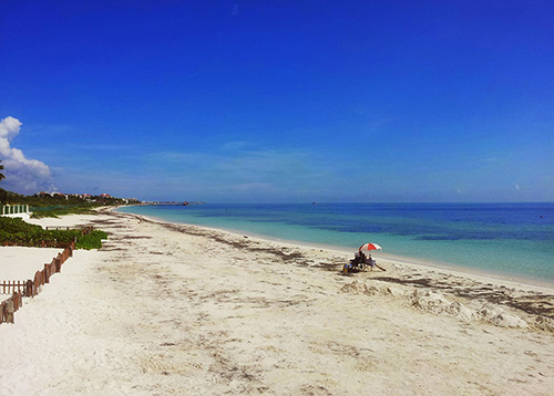 Pueto Morelos snorkeling photo - Condo Hotels Playa del Carmen