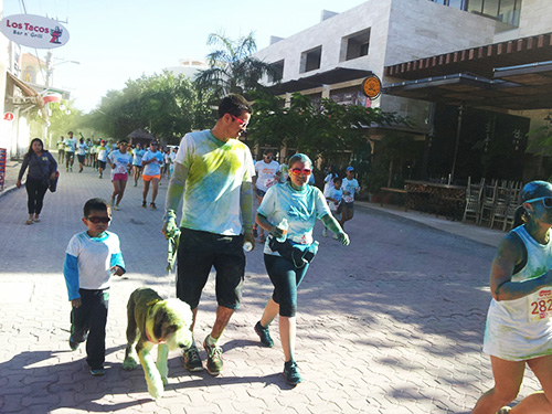 Color Run México family - Condo Hotels Playa del Carmen