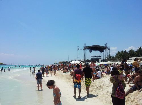Festival playa del Carmen