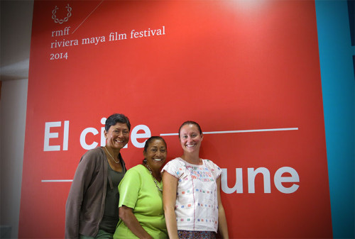 Ladies at the Riviera Maya Film Festival