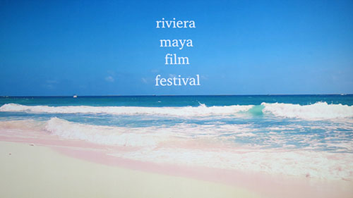 Riviera Maya film festival at the beach