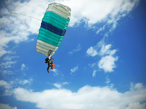 Skydiving - Condo Hotels Playa del Carmen