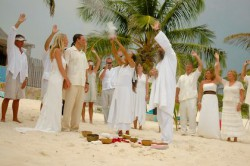 Photo of Mayan Wedding in Mexico - Condo Hotels Playa Del Carmen