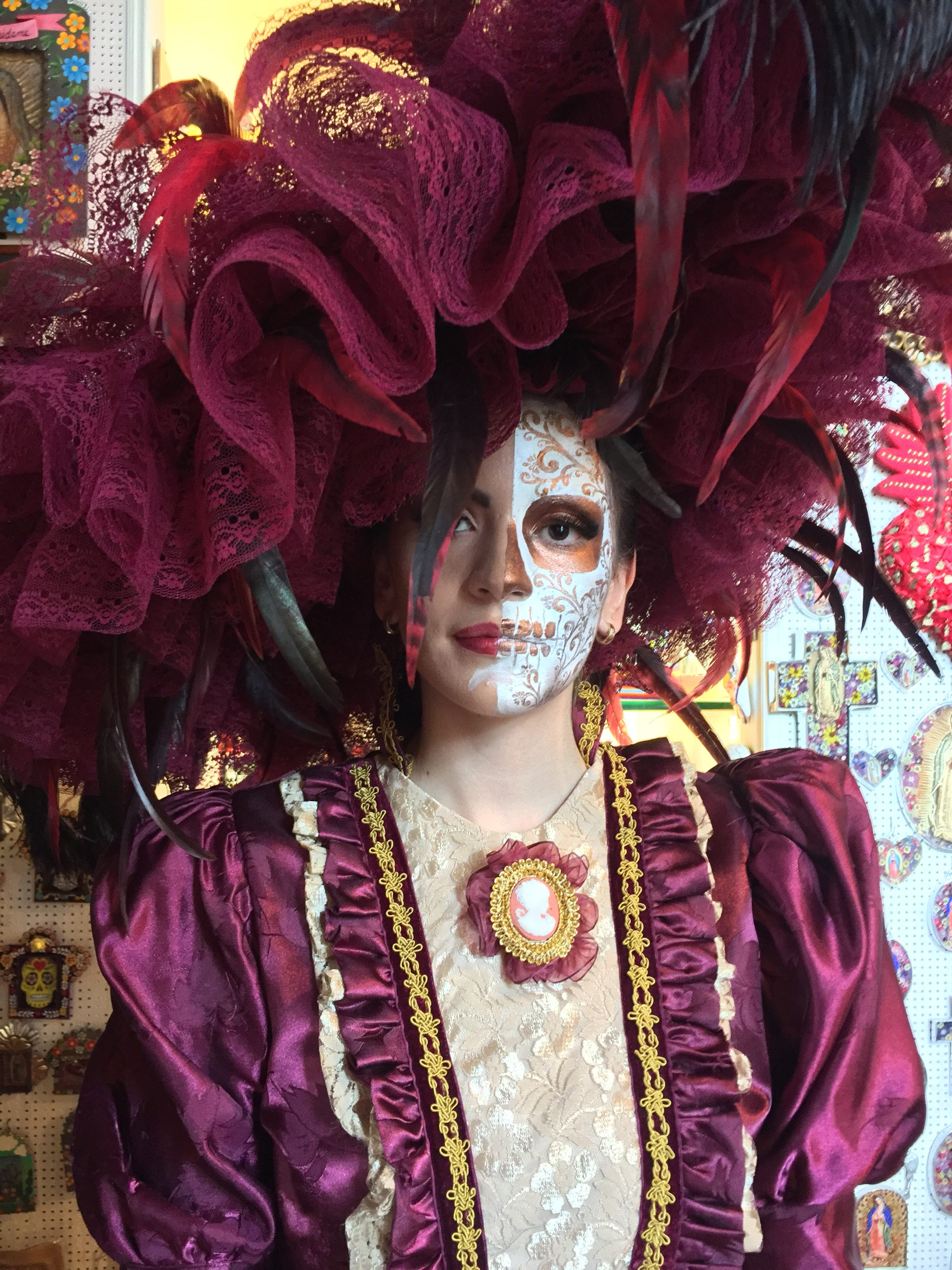 Life and death festival in xcaret